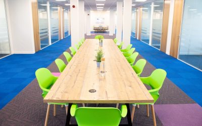 What are the benefits of a coworking space?