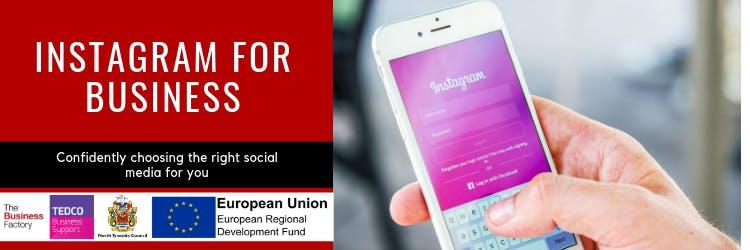 Instagram For Business | Friday 9th August at 1.30pm at Royal Quays Business Centre