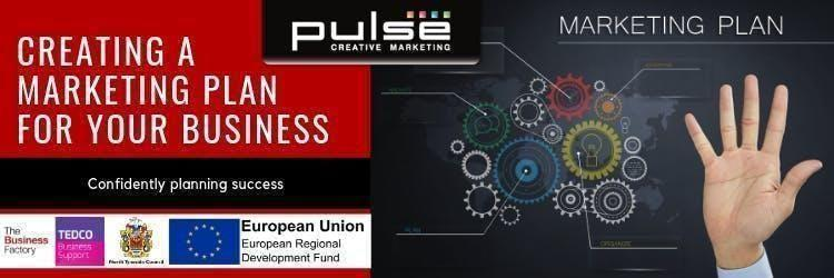 Creating a Marketing Plan for your Business | Monday 12th August at 1.30pm at Royal Quays Business Centre