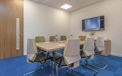 Meeting space at the Royal Quays Business Centre