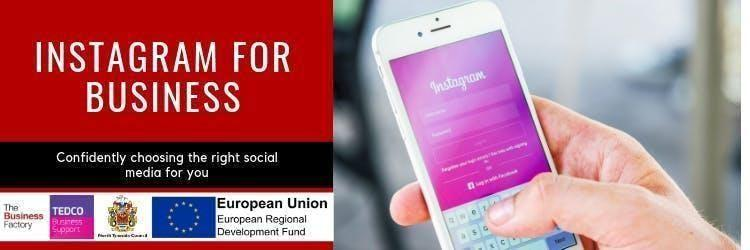 Instagram For Business   Thursday 5th Sept at 1.30pm at Royal Quays Business Centre