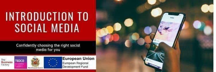 Introduction to Social Media | Tuesday 5th November at 1.30pm