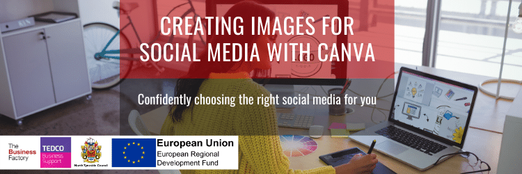 Creating images for Social Media with Canva | Tuesday 3rd December