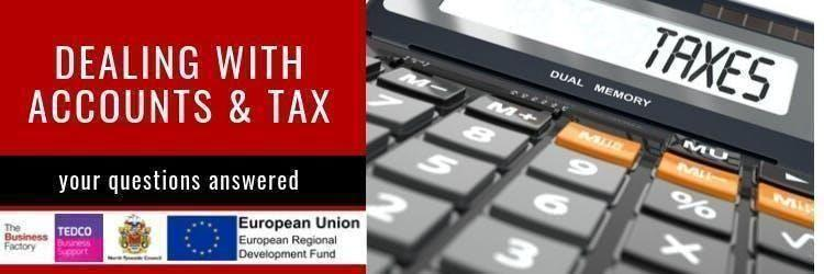 Dealing with Accounts and Tax | Friday 10th January at 9.30am